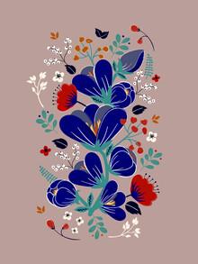 Ania Więcław, Folk Spring Flowers blooms (Polen, Europa)