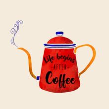 Ania Więcław, Life begins after coffee (Polen, Europa)