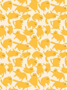Ania Więcław, Yellow Cats Pattern (Polen, Europa)
