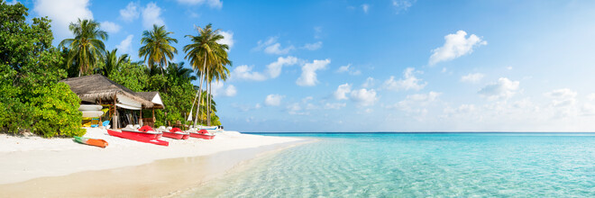 Jan Becke, Tropical paradise on the Maldives (Maldives, Asia)
