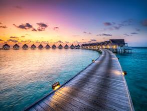 Jan Becke, Summer holidays on the Maldives (Maldives, Asia)