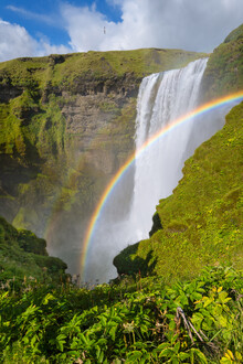 Dave Derbis, Wasserfall im Paradies (Island, Europa)