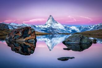 Jan Becke, Stellisee und Matterhorn bei Zermatt (Schweiz, Europa)