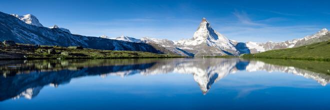 Jan Becke, Schweizer Alpen mit Matterhorn (Schweiz, Europa)