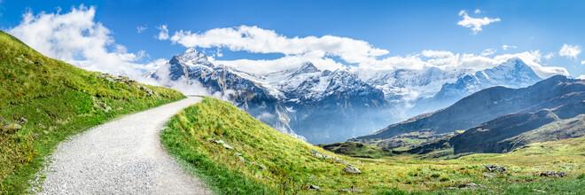 Jan Becke, Schweizer Alpen bei Grindelwald (Schweiz, Europa)