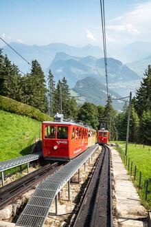 Jan Becke, Mountain railway to Pilatus (Switzerland, Europe)