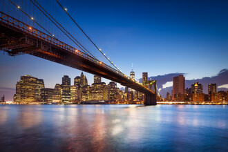 Jan Becke, Brooklyn Bridge in New York City (United States, North America)