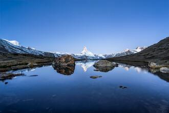 Jan Becke, Das Matterhorn im Winter (Schweiz, Europa)