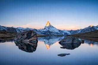 Jan Becke, Matterhorn bei Sonnenaufgang (Schweiz, Europa)