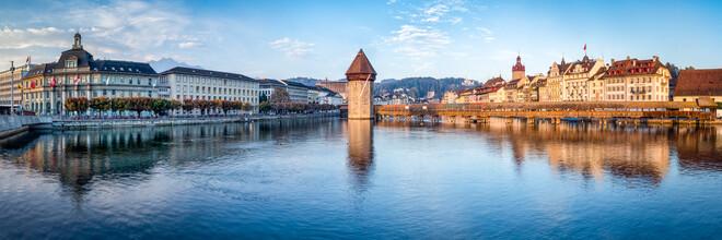 Jan Becke, Luzern Stadansicht (Schweiz, Europa)