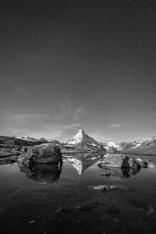 Jan Becke, Matterhorn at night (Switzerland, Europe)