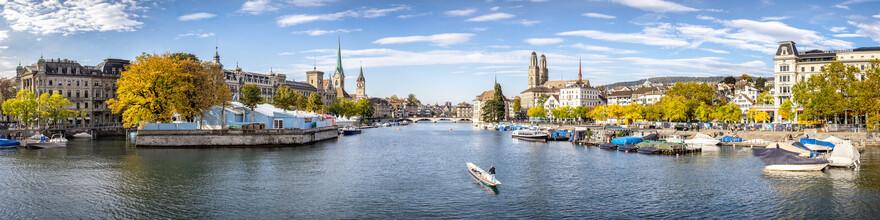 Jan Becke, Zurich city view (Switzerland, Europe)