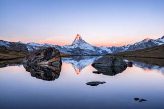 Jan Becke, Matterhorn mountain at sunrise (Switzerland, Europe)
