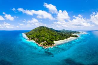 Jan Becke, Die Insel La Digue (Seychellen, Afrika)