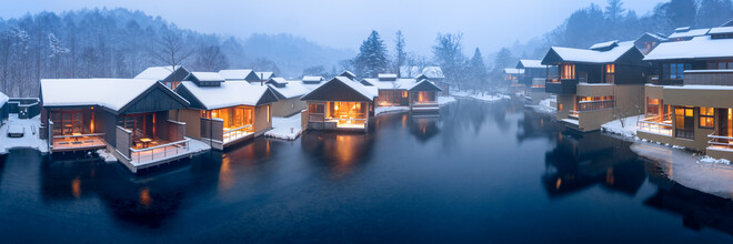 Jan Becke, Karuizawa in winter (Japan, Asia)