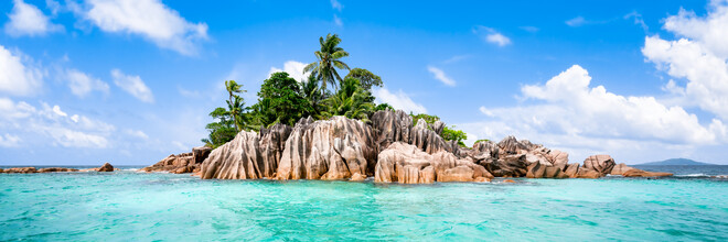 Jan Becke, Die Insel Ile St Pierre auf den Seychellen (Seychellen, Afrika)