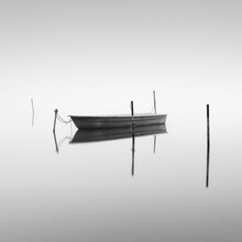 Thomas Wegner, Boot auf dem Hohennauener See im Havelland (Deutschland, Europa)
