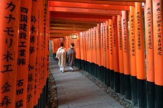 Jan Becke, Fushimi Inari shrine in Kyoto (Japan, Asia)