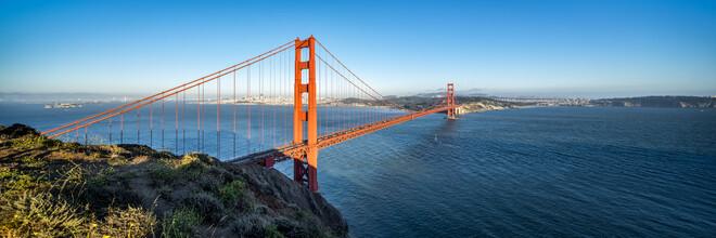 Jan Becke, Golden Gate Bridge bei Sonnenuntergang (Vereinigte Staaten, Nordamerika)