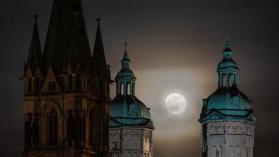 Martin Wasilewski, Naumburg at Full Moon (Germany, Europe)