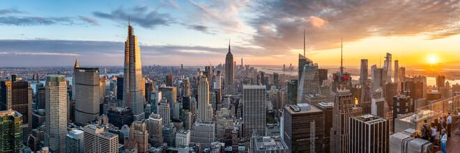 Jan Becke, Manhattan skyline in New York City (United States, North America)