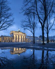 Ronny Behnert, Brandenburger Tor und Pariser Platz in Berlin (Deutschland, Europa)