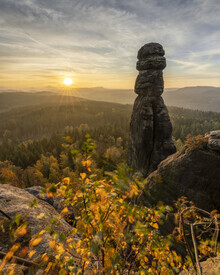 Ronny Behnert, Barbarine auf dem Pfaffenstein Elbsandsteingebirge (Deutschland, Europa)