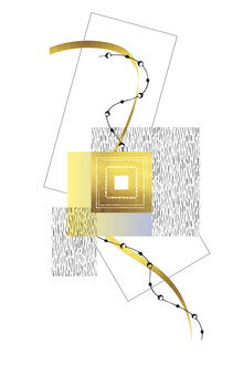 Melanie Viola, Elegantes Design Nr 2 Gold (Deutschland, Europa)