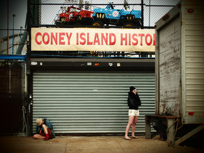 Kay Block, Coney Island (Vereinigte Staaten, Nordamerika)