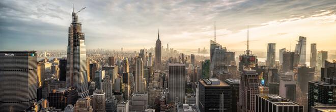 Jan Becke, Manhattan Skyline panorama (Vereinigte Staaten, Nordamerika)