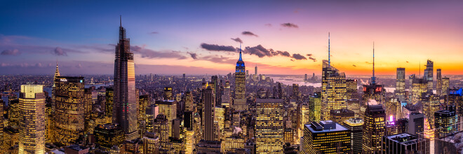Jan Becke, Manhattan skyline at night (United States, North America)