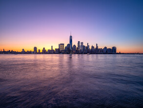 Jan Becke, Manhattan skyline with One World Trade Center (United States, North America)