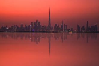 Jean Claude Castor, Dubai Skyline   (Vereinigte Arabische Emirate, Asien)