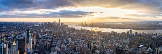 Jan Becke, Lower Manhattan skyline in New York City (United States, North America)
