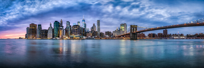 Jan Becke, Manhattan Skyline und Brookyln Bridge (Vereinigte Staaten, Nordamerika)