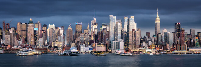 New York City Skyline - fotokunst von Jan Becke
