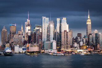 Jan Becke, New York City skyline with Empire State Building (United States, North America)