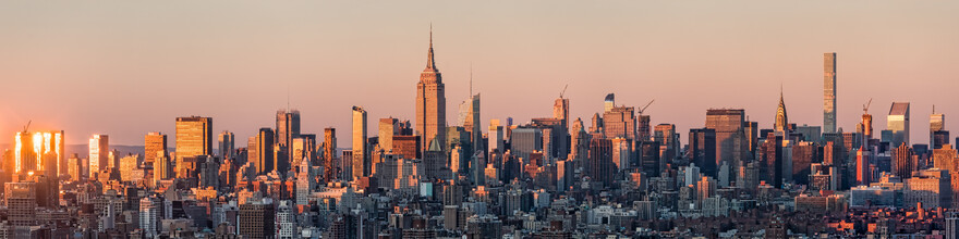 Jan Becke, New York skyline with Empire State Building (United States, North America)