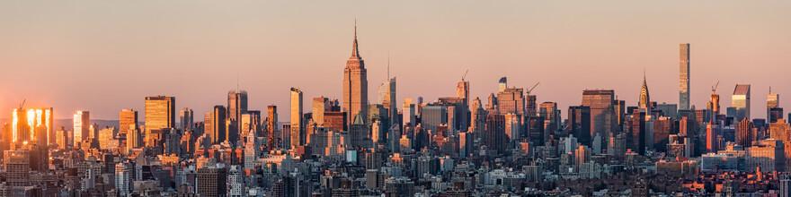 Jan Becke, New York Skyline mit Empire State Building (Vereinigte Staaten, Nordamerika)