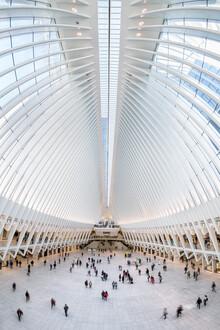 Jan Becke, U-Bahn Station World Trade Center (Vereinigte Staaten, Nordamerika)