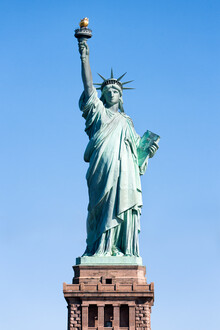 Jan Becke, Statue of Liberty in New York (United States, North America)