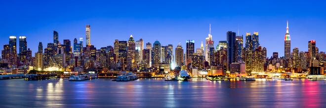 Jan Becke, New York City Skyline bei Nacht (Vereinigte Staaten, Nordamerika)