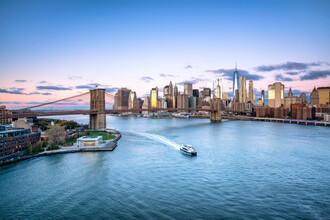 Jan Becke, Brooklyn Bridge in New York City (Vereinigte Staaten, Nordamerika)