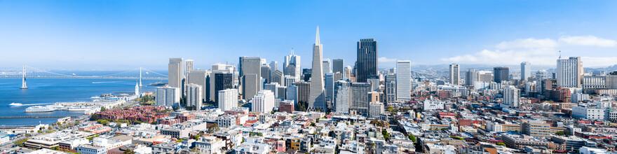 Jan Becke, San Francisco Skyline (Vereinigte Staaten, Nordamerika)