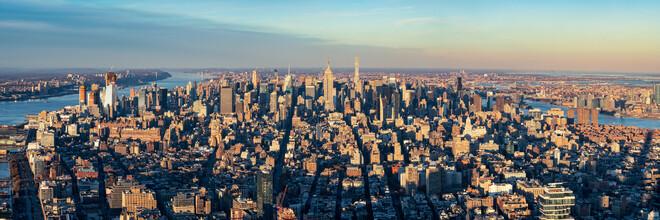 Jan Becke, New York City Skyline Luftaufnahme (Vereinigte Staaten, Nordamerika)