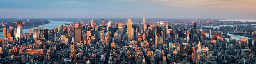 Jan Becke, New York skyline panorama (United States, North America)
