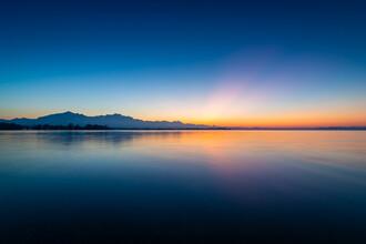 Martin Wasilewski, Dusk at lake Chiemsee (Germany, Europe)