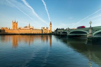 Jan Becke, Palace of Westminster und Big Ben in London (Großbritannien, Europa)