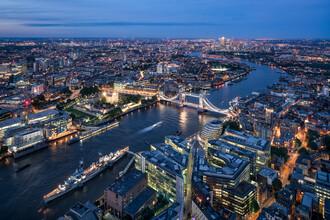 Jan Becke, London city view at night (United Kingdom, Europe)