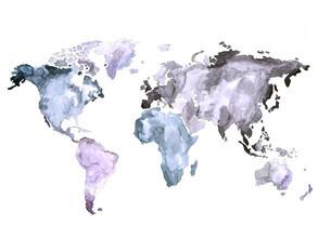 Christina Wolff, Mantika Weltkarte (Neuseeland, Australien und Ozeanien)
